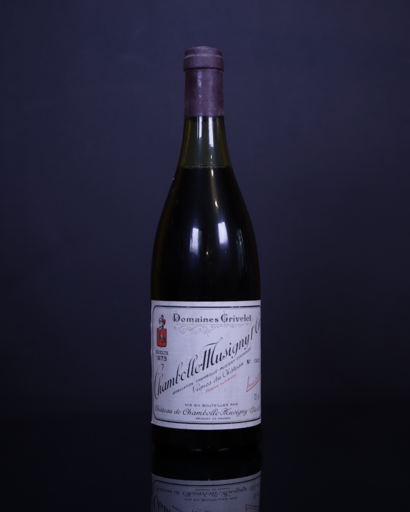 Domaine Grivelet Chambolle Musigny 1er Cru, 1973